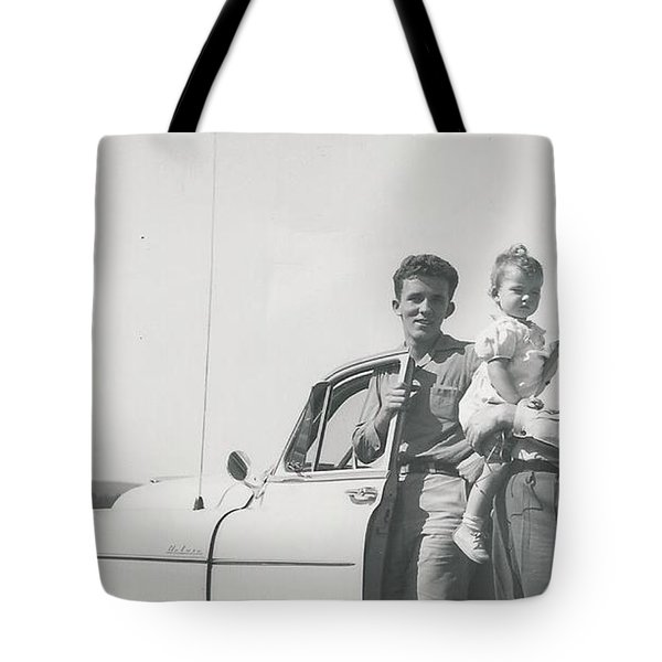 Car Ride Tote Bag