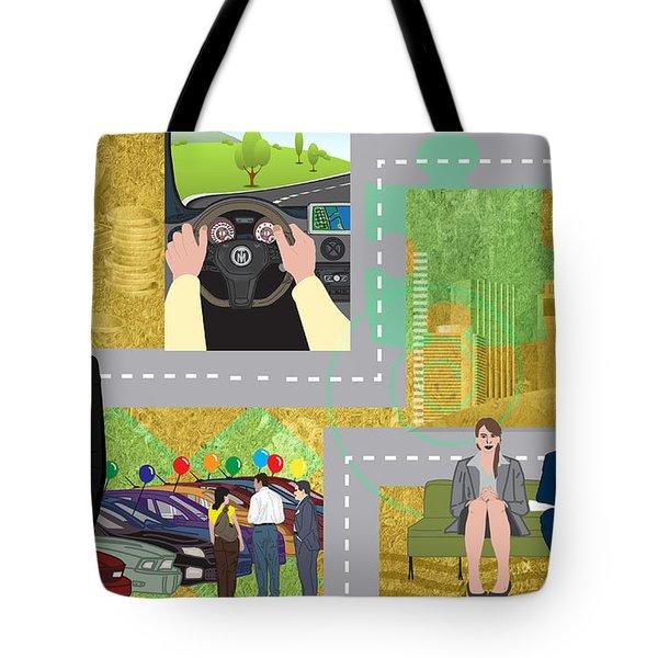 Car Sales Pro  Tote Bag