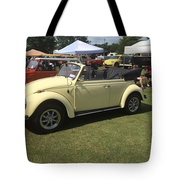 Tote Bag featuring the photograph Car Show by Aaron Martens