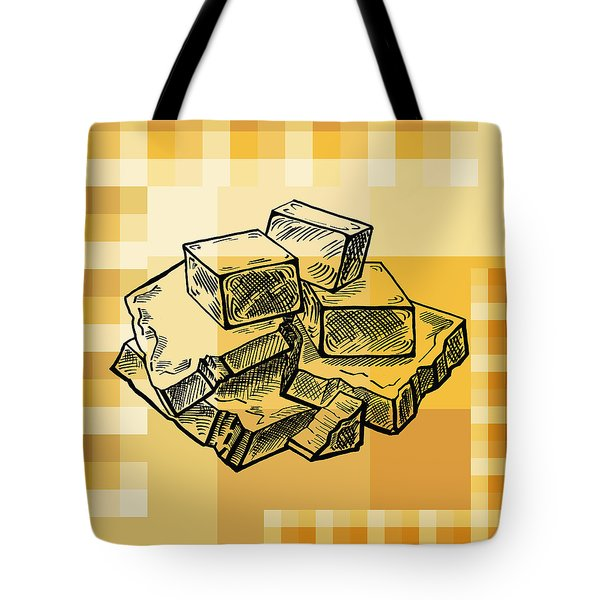 Caramel And Fudge Tote Bag