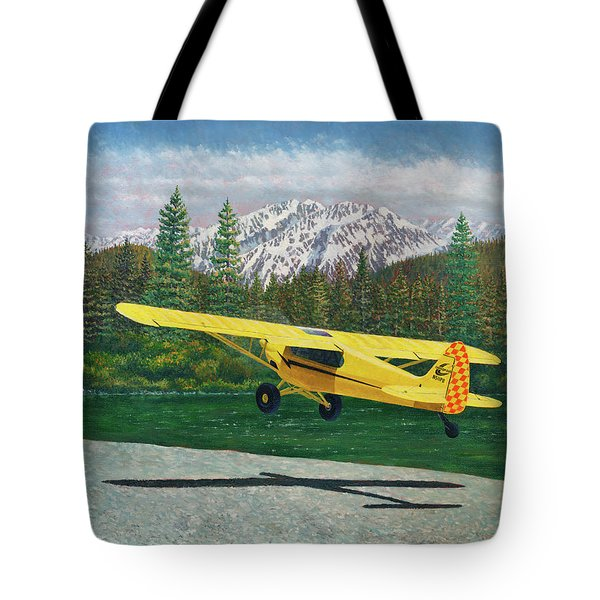 Carbon Cub Riverbank Takeoff Tote Bag
