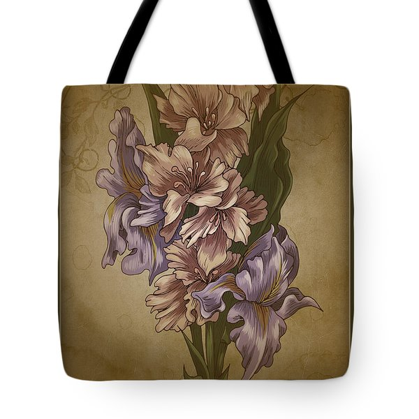 Card Floral Anyttime Tote Bag