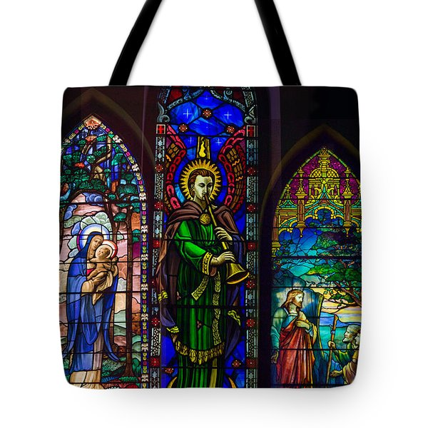 Card Merry Christmas Tote Bag by Robert G Kernodle