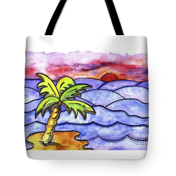 Rolling Seas Tote Bag