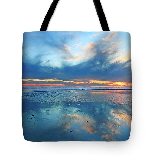San Elijo Sky Tote Bag