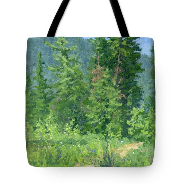 Cardiff Spring Tote Bag
