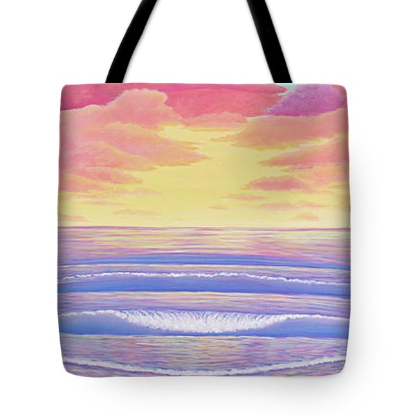 Cardiff Sunset Tote Bag