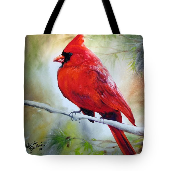 Cardinal 18 Tote Bag