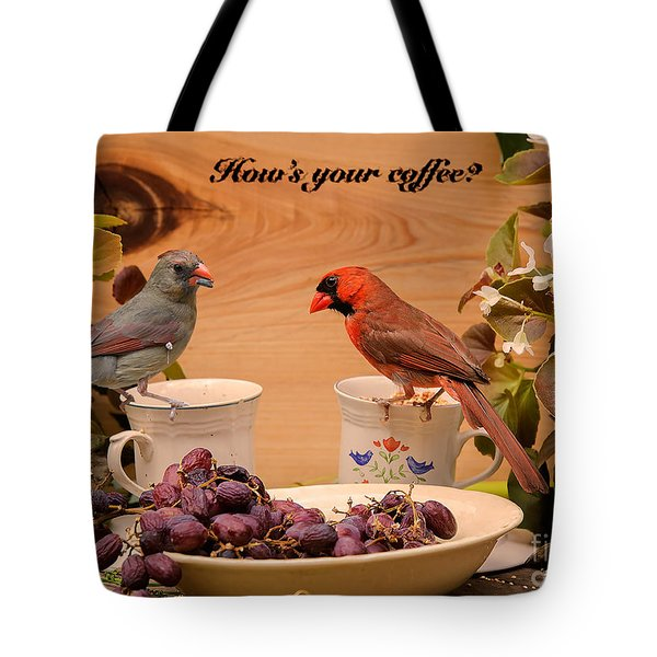 Cardinal Coffee Tote Bag
