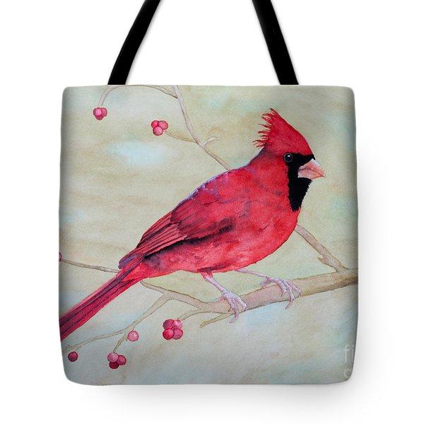 Cardinal II Tote Bag by Laurel Best