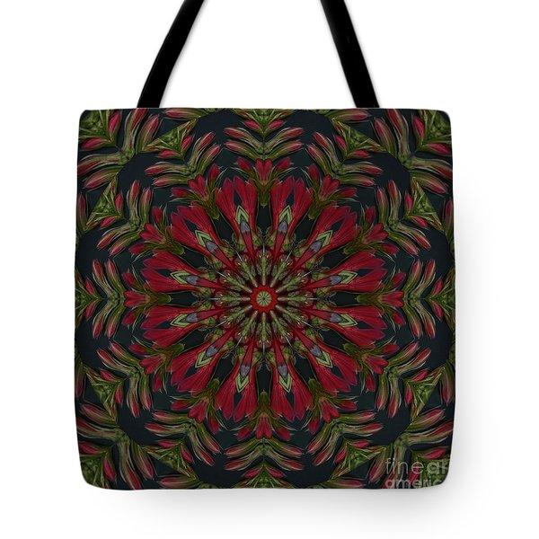 Cardinal Kaleidoscope Tote Bag