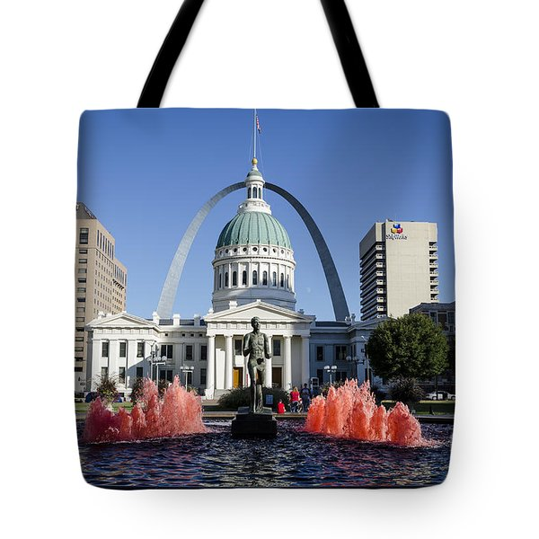 Cardinal Nation Tote Bag by Andrea Silies