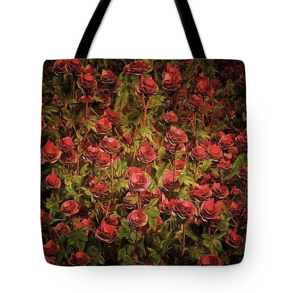 Cardinal Richelieu Roses Tote Bag