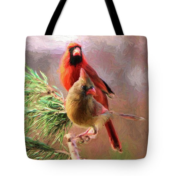 Cardinals2 Tote Bag