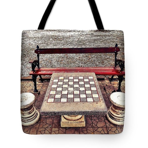 Care For A Game Of Chess? Tote Bag