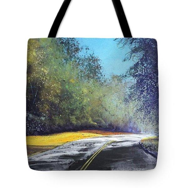 Carefree Highway Tote Bag