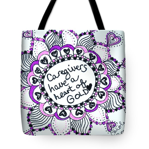 Caregiver Sun Tote Bag