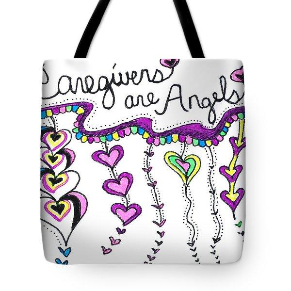 Caregiver Chime Tote Bag