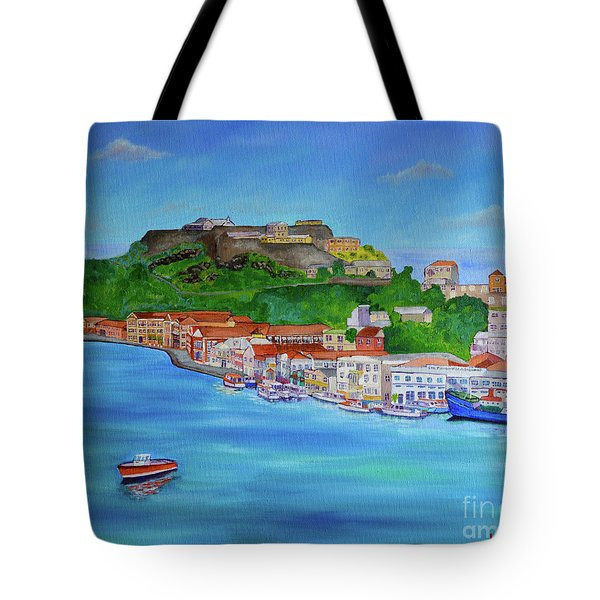 Carenage View Tote Bag
