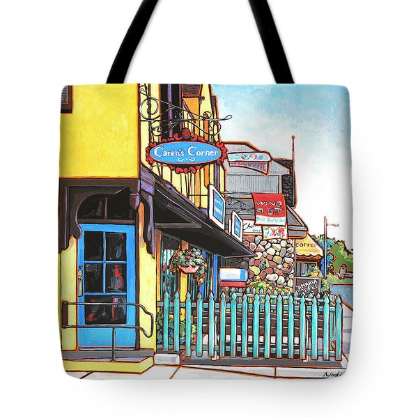 Caren's Corner Tote Bag by Nadi Spencer