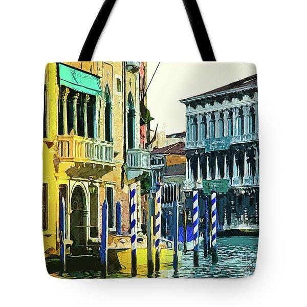 Ca'rezzonico Museum Tote Bag by Tom Cameron