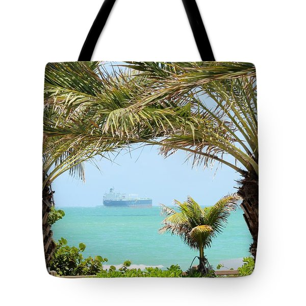 Cargo On Hold Tote Bag