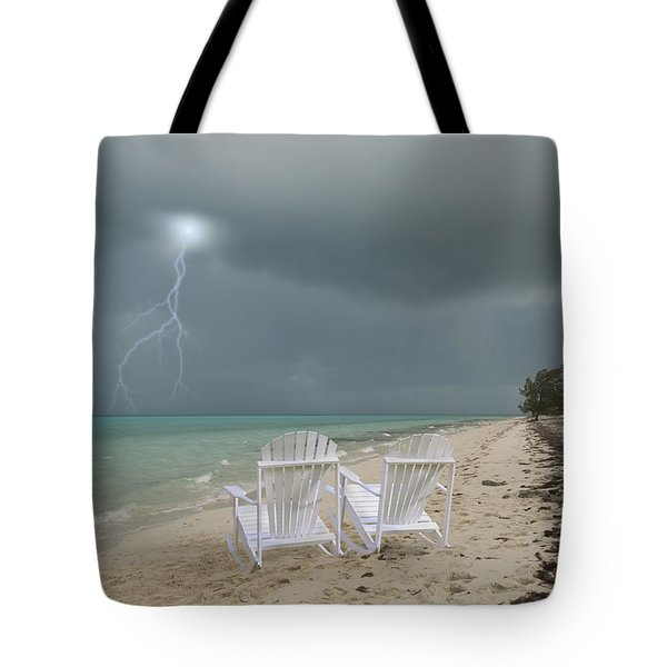 Caribbean Adirondacks Tote Bag