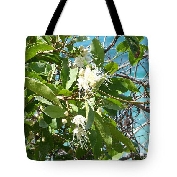 Caribbean Honeysuckle Tote Bag