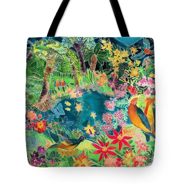 Caribbean Jungle Tote Bag