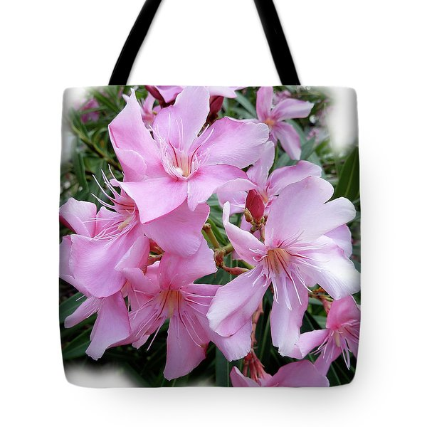 Tote Bag featuring the photograph Caribbean Oleander by Marie Hicks