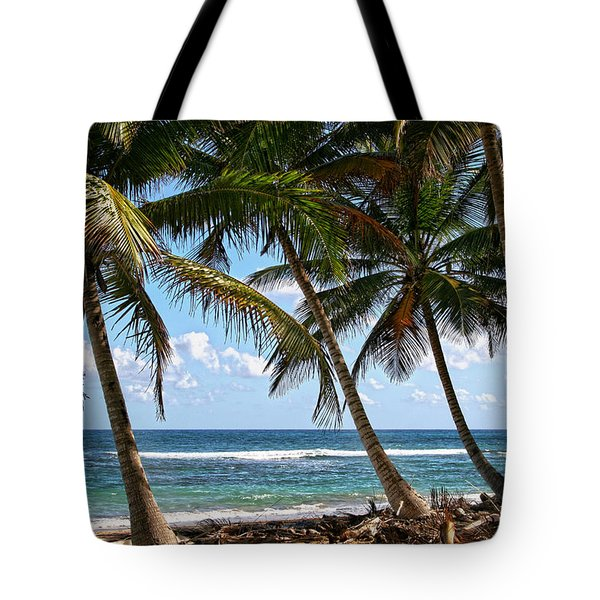 Caribbean Palms Tote Bag