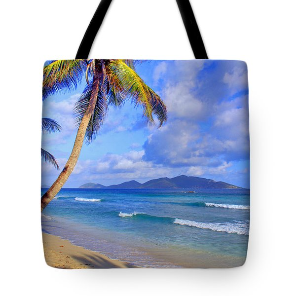 Caribbean Paradise Tote Bag by Scott Mahon