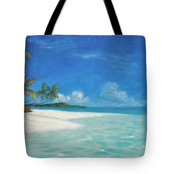 Caribbean Seclusion Tote Bag
