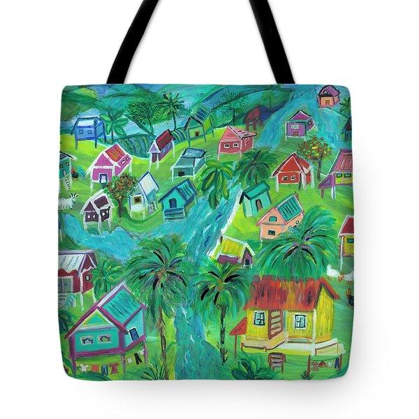 Caribbean Spirit Tote Bag