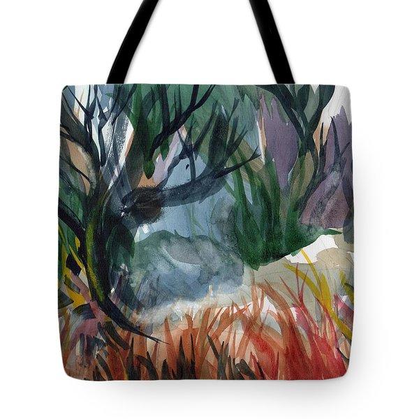 Caribbean Stroll Tote Bag