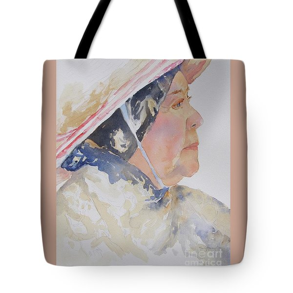 Tote Bag featuring the painting Caribbean Sun by Mary Haley-Rocks
