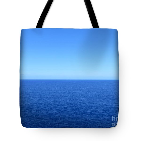 Caribbean Wide Open Tote Bag