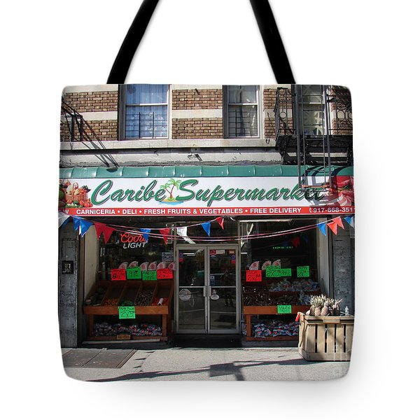 Caribe Supermarket Tote Bag by Cole Thompson