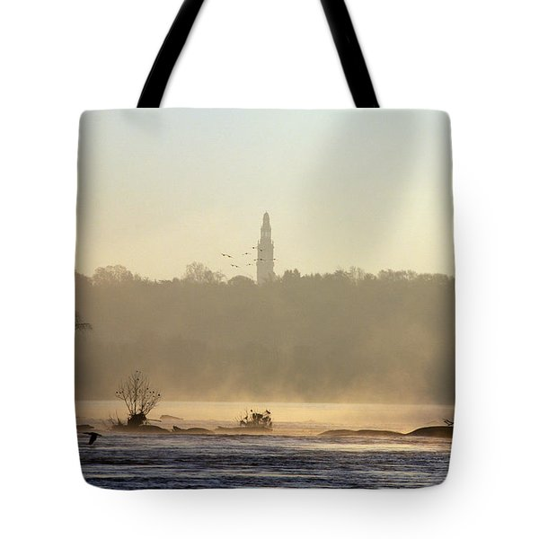 Carillon Mist Tote Bag by Kelvin Booker