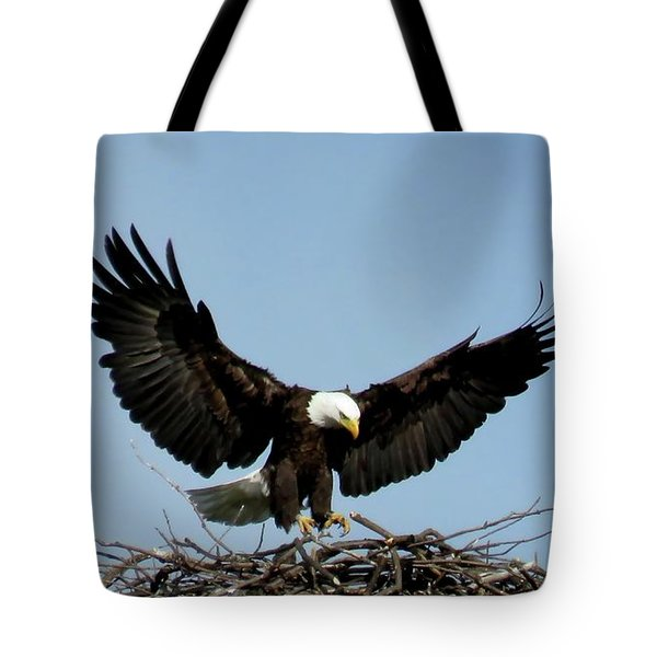 Cape Vincent Eagle Tote Bag
