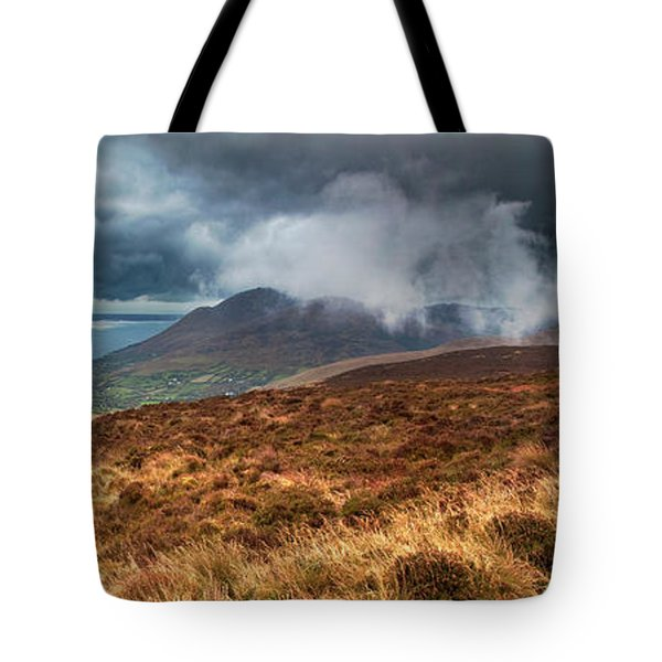 Carlingford Lough Tote Bag by Marty Garland