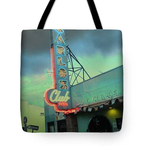 Carlos Club Tote Bag by Kathleen Grace