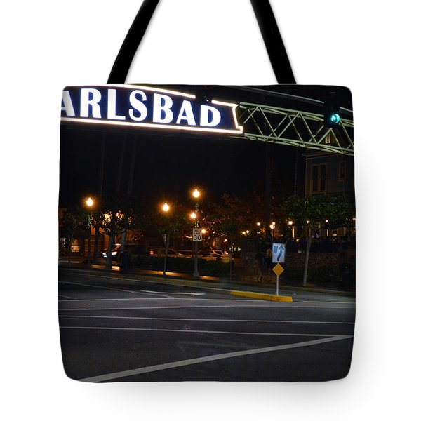Carlsbad 24 Tote Bag by Bill Dutting
