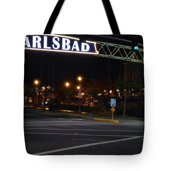 Carlsbad 24 Tote Bag