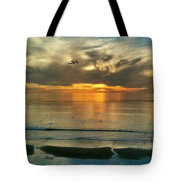 Carlsbad Beach  Tote Bag