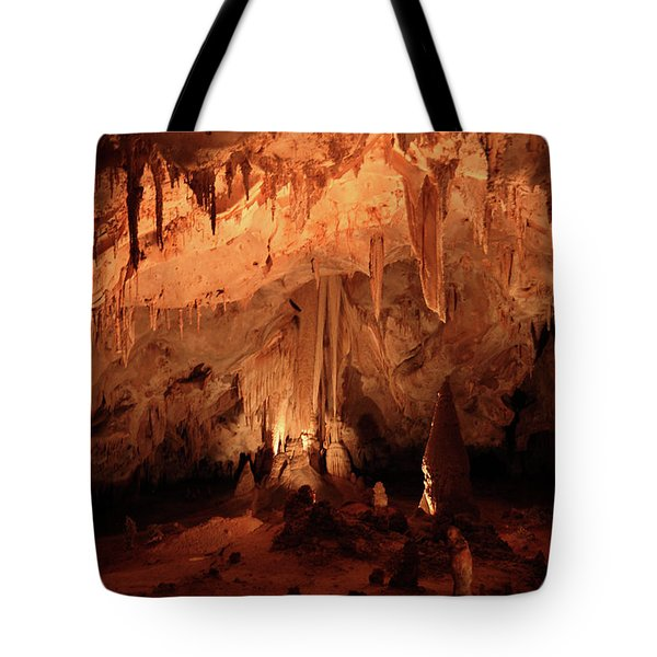 Tote Bag featuring the photograph Carlsbad Caverns 2 by Marie Leslie