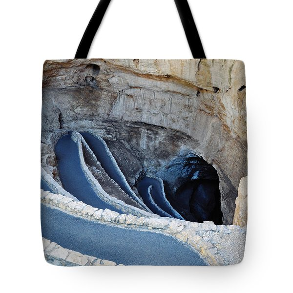 Carlsbad Caverns Natural Entrance Tote Bag