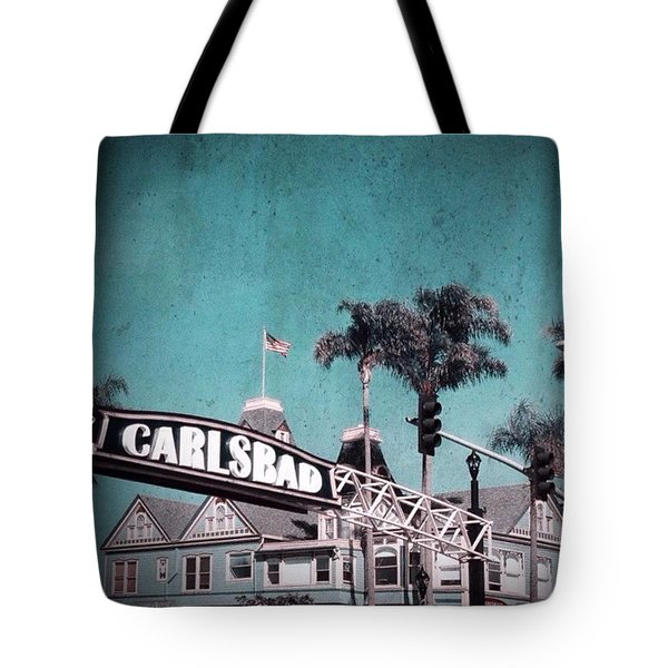 Carlsbad In Technicolor Tote Bag