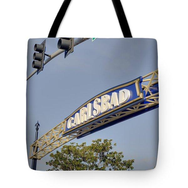 Carlsbad In Bold Tote Bag