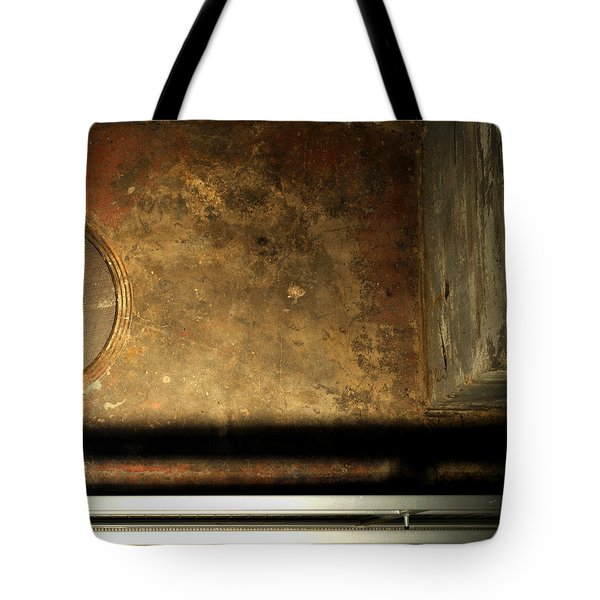 Carlton 13 - Abstract From The Bridge Tote Bag